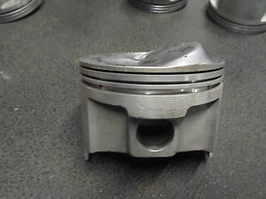 Small Block Chevy Forged Brc 63 Dome Gas Piston 4 030 Bore 1 700 Ch 4 2 3 6 7