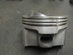 Small Block Chevy Forged Brc 63 Dome Gas Piston 4 030 Bore 1 700 Ch 5 2 3 6 7