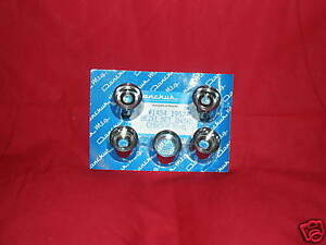 57 1957 Chevy Belair Nomad Chrome Dash Bezel Set