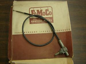 Nos Oem Ford 1953 1954 1955 Truck Windshield Wiper Control Pickup