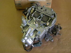 Nos 1977 Ford Mustang Ii 2 Pinto Bobcat Carburetor 140ci Variable Venturi