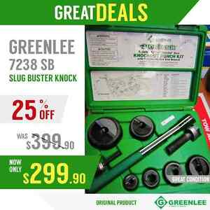 Greenlee 7238 Sb Slug Buster Knock L ks New Original Fast Shipping