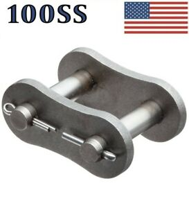 Connecting Link For 100 Ss Stainless Roller Chain pack Of 5