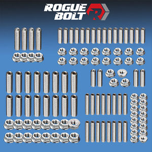 Ford 351c 350m 400m Engine Stud Kit Bolts Stainless Steel Cleveland Boss 302 351