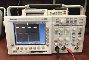 Tektronix Tds3052b Digital Phosphor Oscilloscope 500mhz 5gs s 2chs