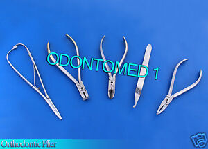 Orthodontic How Plier Cvd Hard Wire Cutter Distal End Mathieu Bracket Dn 2029