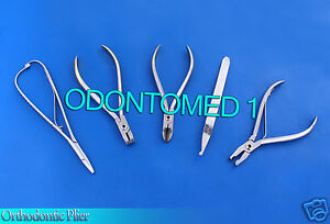 Orthodontic Dela Rosa Plier Hard Wire Cutter Distal End Mathieu Bracket Remover