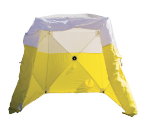 Pelsue 6510c Tent 10 X 9 Hi Ground Tent 10 X 10 X 9 High Yellow white