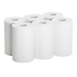 26610 Paper Towel Roll 1 ply Hardwound 9 Width X 400 Length pack Of 6