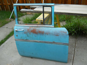 57 Chevy 4 Dr Sedan Or Station Wagon Front Door Passenger Side