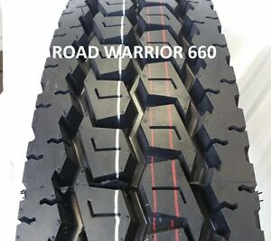 4 Tires 11r22 5 Road Warrior New Drive Truck Tires H 16pr Premium Quality