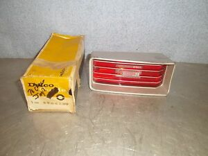 Vintage Nos 1970 Chevy Impala Tail Light Back Up Lamp Delco 5964230 R H
