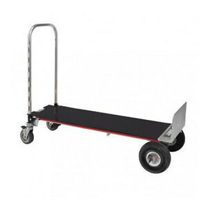 Magliner Gemini Xl Convertible Hand Truck 10 4 ply Pneumatic Wheels