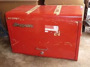 Snap On Tool Box Top Portion With Tools