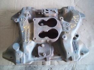 1976 Dodge Pickup 440 Engine 4bbl Intake Manifold Chrysler Mopar 1977 1978 1974