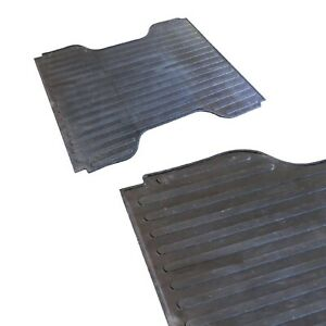 Westin 50 6105 Black Rubber Truck Bed Mat For Ford F 150 W 66 Bed