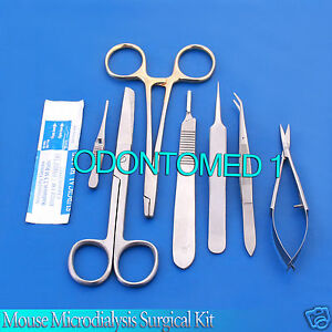 Mouse Microdialysis Surgical Kit Ds 628