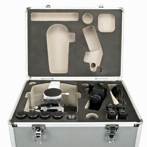 40x 1600x Compound Trinocular Biological Led Microscope W Aluminum Carrying Case