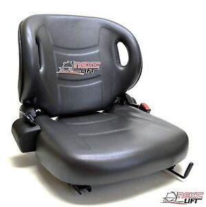 New Molded Toyota Forklift Seat With Seatbelt Switch Premium Quality Belt