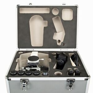 40x 1000x Trinocular Biological Compound Led Microscope W Aluminum Carrying Case