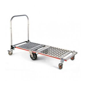Magliner Six wheel Folding Platform Truck base With Extension