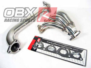 Obx Header Exhaust Fits 1988 91 Crx Si 1992 00 Civic 1988 91 Civic Ex Si D16z6