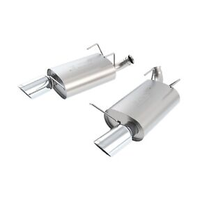 Borla 11793 Touring Stainless Steel Rear Section Exhaust For Ford Mustang V6