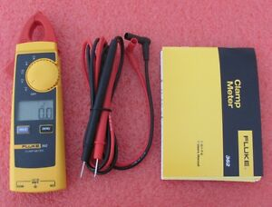 Fluke 362 Ac dc Digital Clamp Meter F362 Multimeter 600v Ohm Us Seller