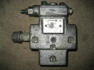 Double A Vickers Hydraulic Pressure Relief Valve Part Bt 04 3m 10a2