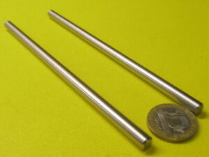 316 Stainless Steel Rod shaft Undersized 1 4 Diameter X 6 0 Length 2 Pcs
