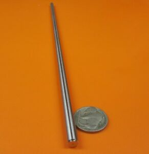 316 Stainless Steel Shaft Rod Undersized 1 4 Diameter X 12 0 Length 1 Pcs