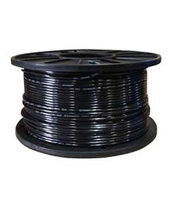 500ft Thhn 14 14awg 14 Gauge Solid Black Building Electrical Cable Wire