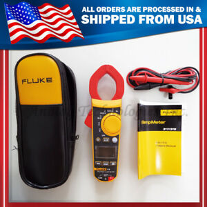 New Fluke F319 Digital Clamp Meter True rms 37mm Frequency 6000 Count W case