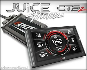 01 04 Chevy Duramax 6 6l Lb7 Edge Products Juice W Attitude Cts2 Part 21500