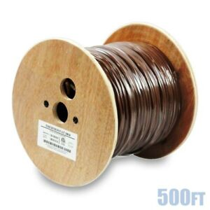 500ft 18 4 Unshielded Cmr Heating Air Conditioning Hvac Ac Thermostat Cable Wire