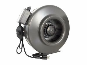 4 6 8 10 12 Inline Duct Booster Blower Fan With Variable Speed Controller