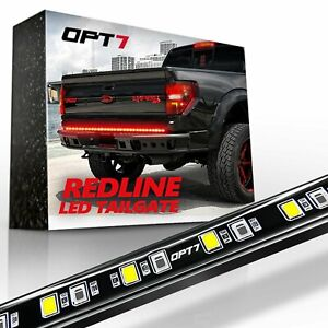 60 Led Tailgate Light Bar Truck Pickup Turn Signal Reverse Brake Back up Glow