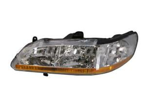 For 2001 2002 Honda Accord Sedan Coupe Headlamp Headlight Combination Lh