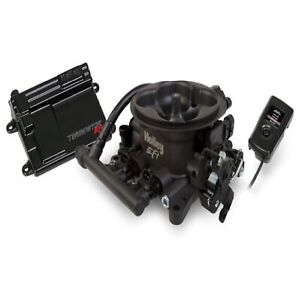Holley 550 406 Gray Terminator Efi 4bbl Throttle Body Fuel Injection System