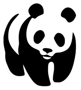 Panda Vinyl Decal Sticker Car Window Bumper Wall Macbook Bear Cute Jdm Euro