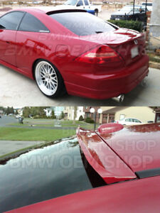 2003 2007 Unpainted For Honda Accord 7 Coupe K Style Roof Spoiler Wing