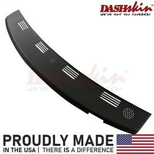 02 05 Dodge Ram Abs Molded Rear Defrost Dash Cover Cap Skin Overlay Black