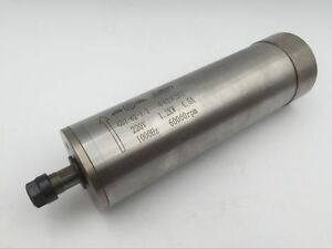 1 2kw Electric Spindle Motor Water Cooled 60000rpm Er11 Collet 4bearing Drilling