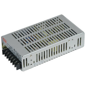 Mean Well Sp 100 5 Ac To Dc Power Supply Single Output Enclosed 5v 20a 100w