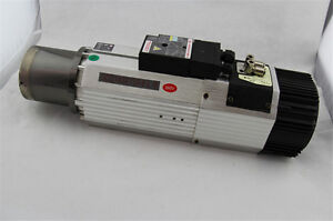 New Cnc 9kw Atc Spindle Motor 6 4nm 380v 200 400hz Long Head Replace Italy Hsd