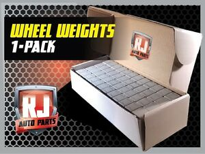 1 9 Lb Box Wheel Weights 1 4 Oz Stick On Adhesive Tape 144 Oz 576 Pieces