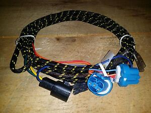 A3735 26 Fisher western Snow Plow Peculiar Light Harness Hb1