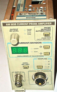 Tektronix Am503b Current Probe Amplifier Excellent Condition