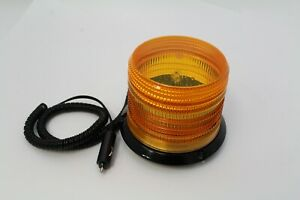 Amber Strobe Alert Light With Magnetic Mount 5 50 High 5 50 Wide