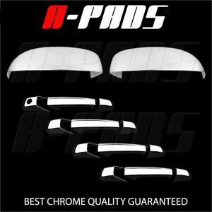 For Chevy Suburban Tahoe Avalanche 07 13 Chrome Mirror Door Handle Cover